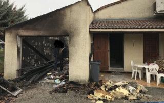 Les bénévoles de l'association apportent leur soutien aux nombreux sinistrés des incendies de forêt du sud de la France