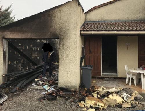 Nombreux sinistrés des incendies de forêt du sud de la France.