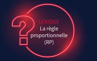 Lexique assurance : règle proportionnelle